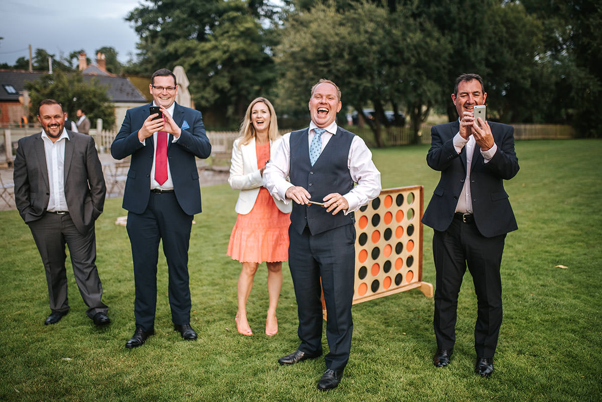 sopley mill wedding garden games