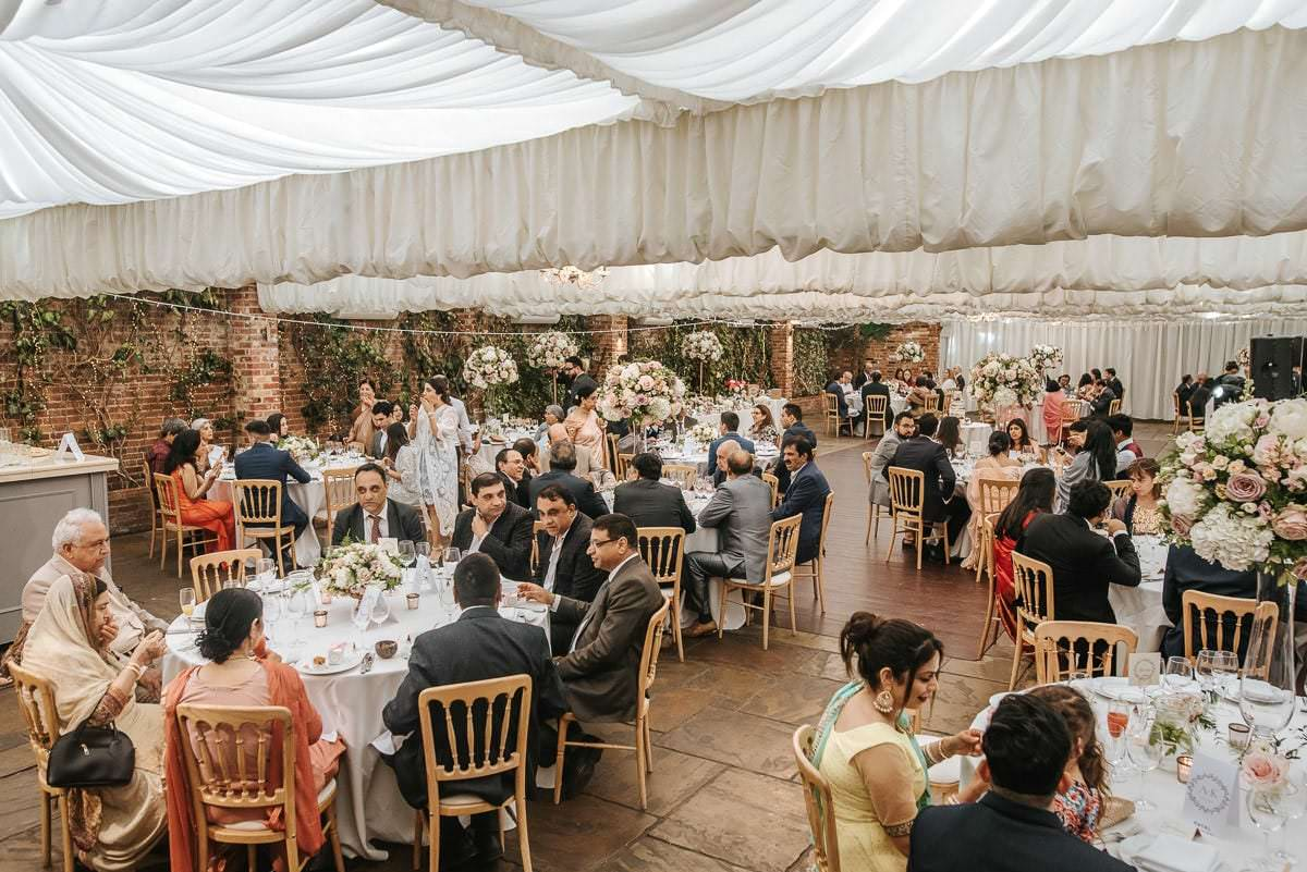 northbrook park indian wedding breakfast