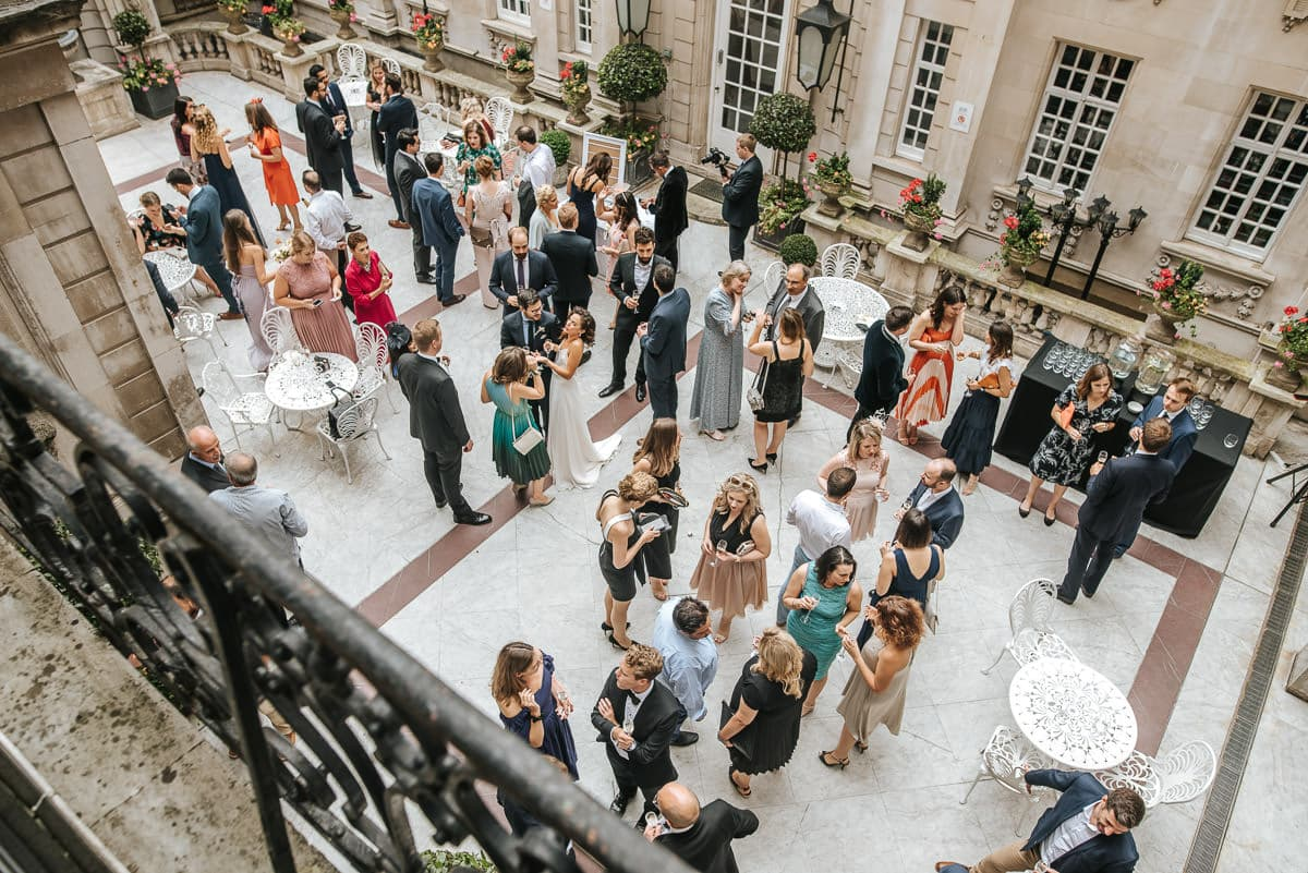 dartmouth house london wedding