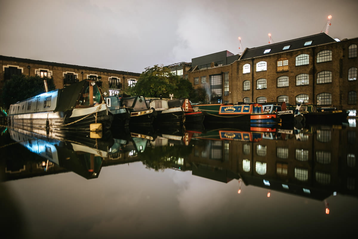 London Canal Museum Wedding 1