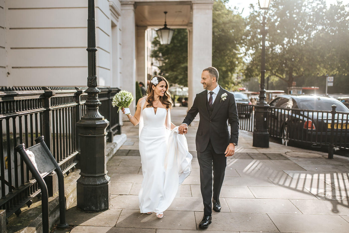 knightsbridge wedding photos